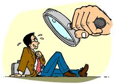 Interviewing Magnifying Glass